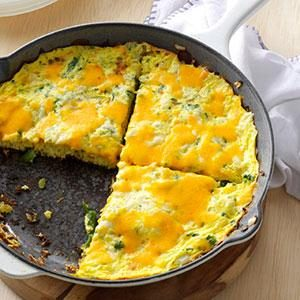 Asparagus Frittata Recipe photo by Taste of Home