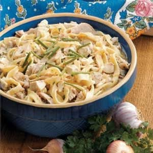 Chicken with Homemade Noodles Recipe