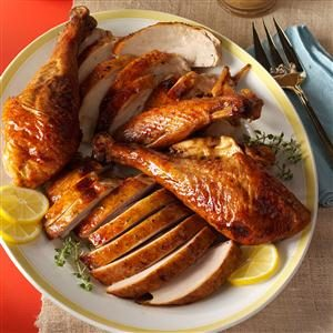 Honey-Citrus Glazed Turkey