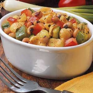 Black-Eyed-Pea and Pasta Salad Recipe