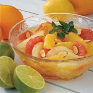 Almond Sunshine Citrus Recipe