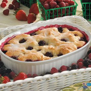 Healthy Blackberry Cobbler Recipe