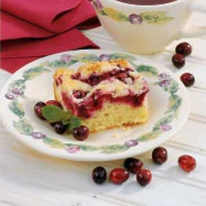Cranberry Crumb Cake Recipe