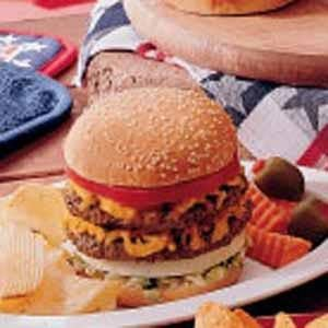 Double-Decker Burgers Recipe
