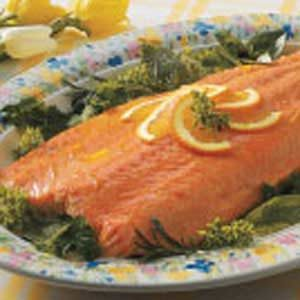 Citrus Grilled Salmon Recipe