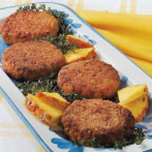 No-Fuss Ham Patties Recipe