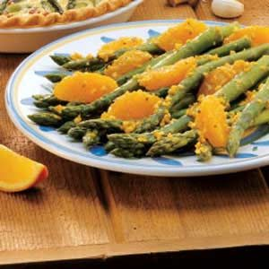 Orange Sauce Asparagus Recipe