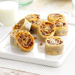 Date-Walnut Pinwheels Recipe