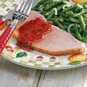 Ham with Currant Sauce Recipe