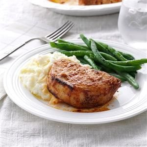 Lemon-Garlic Pork Chops Recipe