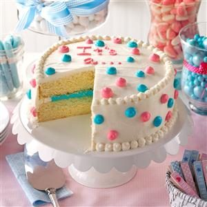 Gender Reveal Cake Recipe