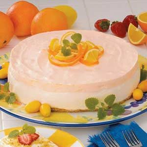Orange Cream Cheesecake Recipe