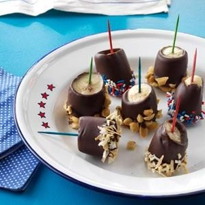 Frozen Chocolate Monkey Treats Recipe
