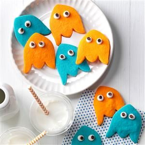 Ghost Shortbread Cookies
