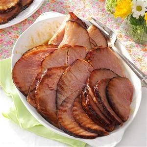 Maple-Glazed Ham Recipe