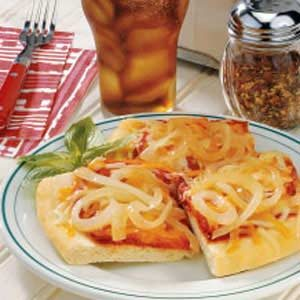 Vidalia Onion Tomato Pizza Recipe