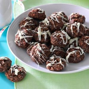 No-Bake Fudgy Coconut Cookies Recipe