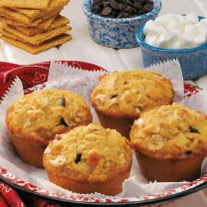 S'more Jumbo Muffins Recipe