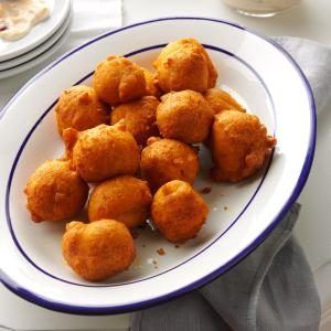 Spicy Pumpkin Fritters Recipe