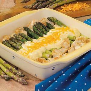 Curried Chicken with Asparagus Recipe