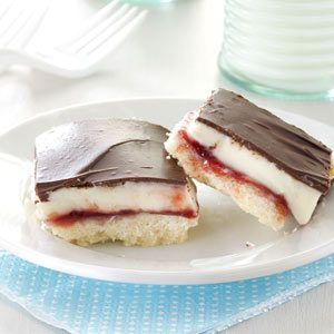 Chocolate Raspberry Bars Recipe