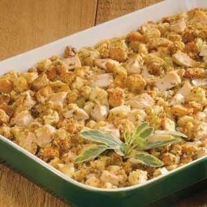 Chicken 'n' Stuffing Recipe
