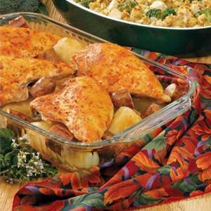 Sausage 'N' Chicken Casserole Recipe