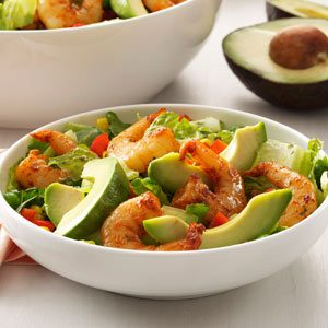 Shrimp Salad with Cilantro Dressing Recipe