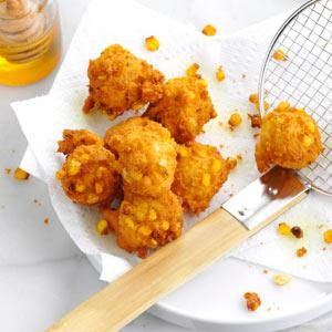Marina's Golden Corn Fritters Recipe