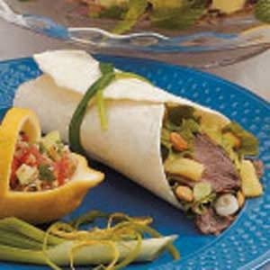 Special Beef Wraps Recipe