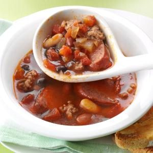 Hearty Beef & Bean Soup Recipe
