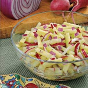 Radish Cucumber Salad Recipe