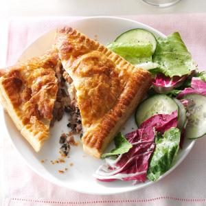Provolone Beef Pastry Pockets Recipe