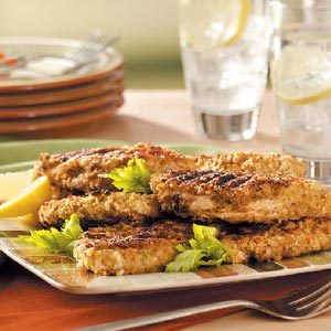 Grilled Breaded Chicken Recipe