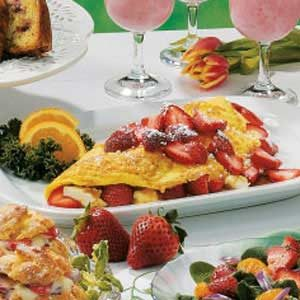 Strawberry Bliss Omelet