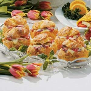 Strawberry-Lemon Cream Puffs Recipe