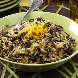 Cranberry Rice with Caramelized Onions Recipe