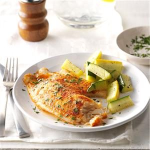 Lemon-Pepper Tilapia Recipe