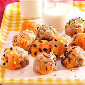 Spiced Pumpkin Doughnut Bites Recipe
