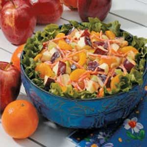 Peanut Apple Salad Recipe