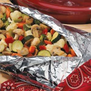 Grilled Veggie Mix Recipe