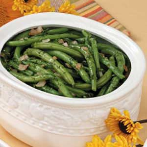 Herbed Green Beans Recipe