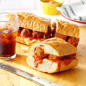 Giant Meatball Sub Recipe