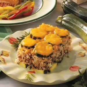 Zucchini Beef Bake Recipe