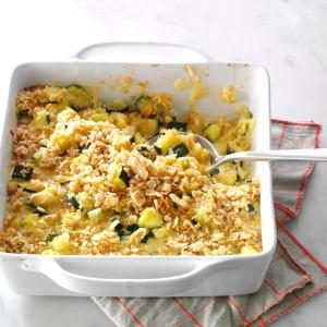 Zucchini & Cheese Casserole Recipe