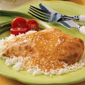 Sesame Chicken Breasts Recipe