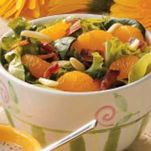 Tossed Salad with Oranges Recipe