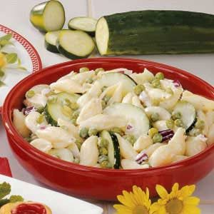 Cucumber Shell Salad Recipe