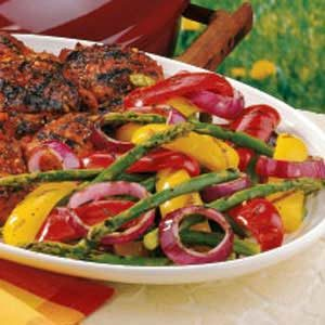 Special Grilled Veggies Recipe