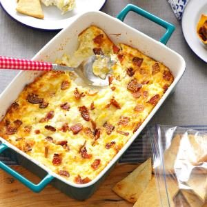 Lemony Bacon-Artichoke Dip Recipe